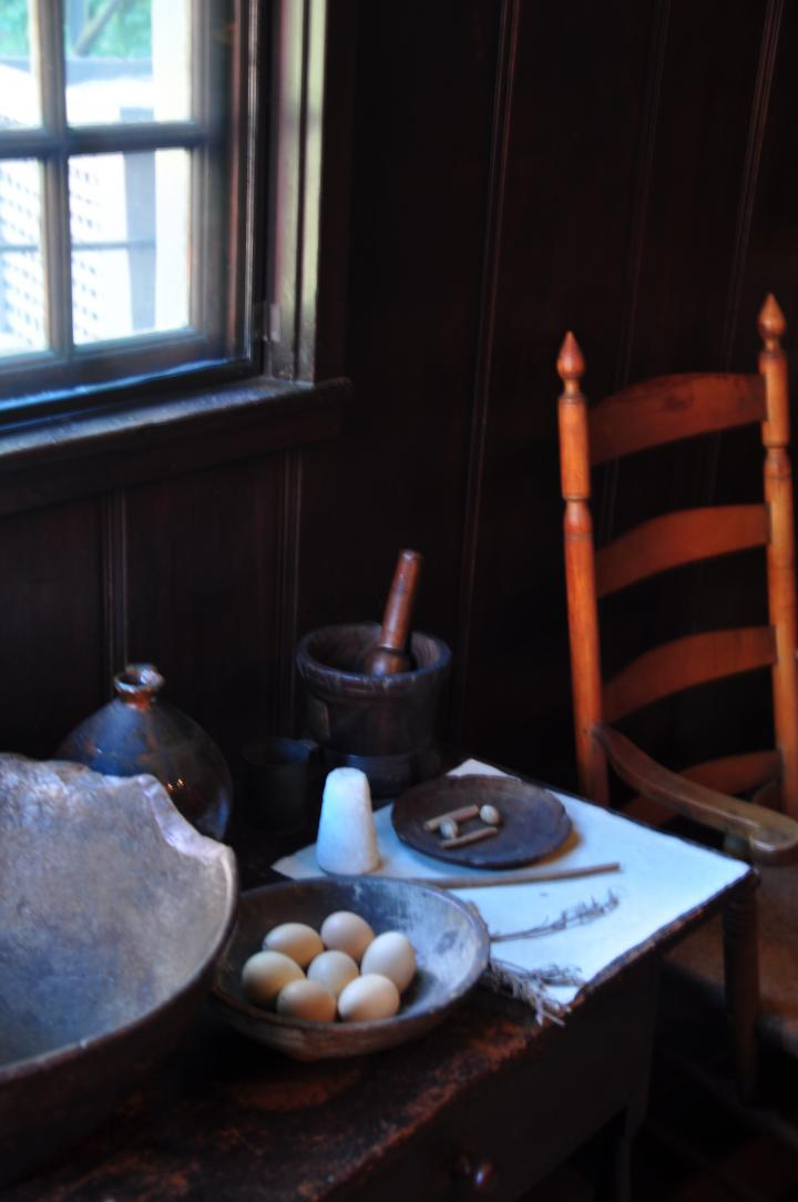 Paul Revere House Table