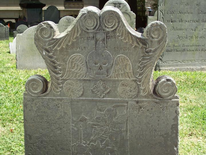Tapping Headstone