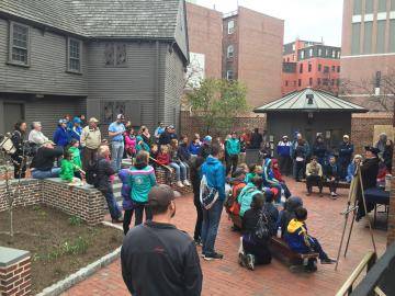Paul Revere House Full Courtyard