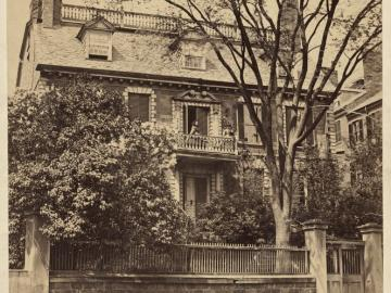 Hancock House, Beacon Hill ca. 1860
