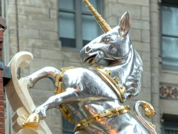 Old State House Unicorn
