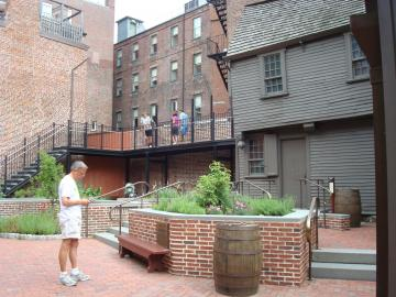 Paul Revere House Courtyard